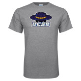 Grey T Shirt-Primary Distressed