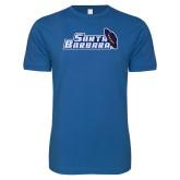 Next Level SoftStyle Royal T Shirt-Santa Barbara with Hat