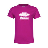 Youth Cyber Pink T Shirt-Primary