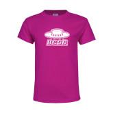 Youth Fuchsia T Shirt-Primary