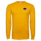 Gold Long Sleeve T Shirt-Primary