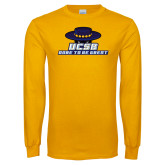Gold Long Sleeve T Shirt-Dare to be Great
