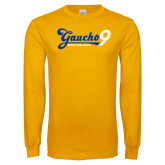 Gold Long Sleeve T Shirt-Gauchos 9