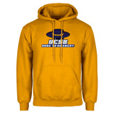 Gold Fleece Hoodie-Dare to be Great