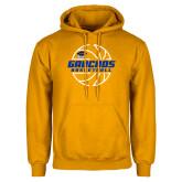 Gold Fleece Hoodie-Gauchos Basketball Lined Ball