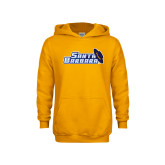 Youth Gold Fleece Hoodie-Santa Barbara with Hat
