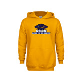 Youth Gold Fleece Hoodie-Dare to be Great