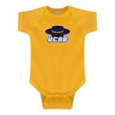 Gold Infant Onesie-Primary