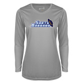 Ladies Syntrel Performance Platinum Longsleeve Shirt-Santa Barbara with Hat