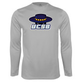 Performance Platinum Longsleeve Shirt-Primary