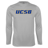 Performance Platinum Longsleeve Shirt-UCSB