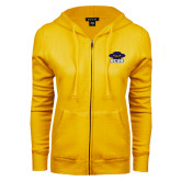 ENZA Ladies Gold Fleece Full Zip Hoodie-Primary
