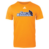Adidas Gold Logo T Shirt-Santa Barbara with Hat