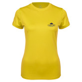 Ladies Syntrel Performance Gold Tee-Gaucho Fund