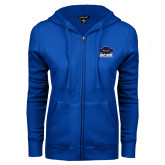 ENZA Ladies Royal Fleece Full Zip Hoodie-Primary