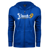ENZA Ladies Royal Fleece Full Zip Hoodie-Gauchos 9