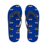 Ladies Full Color Flip Flops-Primary