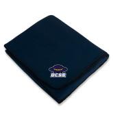 Navy Arctic Fleece Blanket-Primary