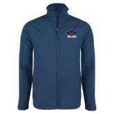 Navy Softshell Jacket-Primary