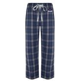 Navy/White Flannel Pajama Pant-Primary