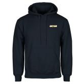 Navy Fleece Hood-UCSB