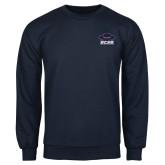 Navy Fleece Crew-Primary