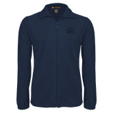 Fleece Full Zip Navy Jacket-Primary