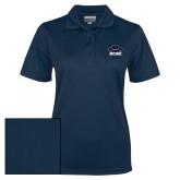 Ladies Navy Dry Mesh Polo-Primary