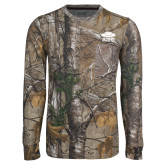 Realtree Camo Long Sleeve T Shirt w/Pocket-Primary