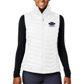 Columbia Lake 22 Ladies White Vest-Primary