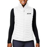Columbia Mighty LITE Ladies White Vest-UCSB