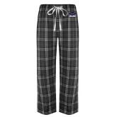Black/Grey Flannel Pajama Pant-Primary