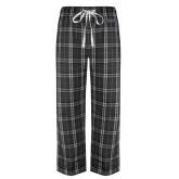 Black/Grey Flannel Pajama Pant-UCSB