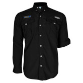 Columbia Bahama II Black Long Sleeve Shirt-UCSB