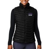 Columbia Lake 22 Ladies Black Vest-Primary