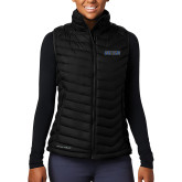 Columbia Lake 22 Ladies Black Vest-UCSB