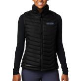Columbia Mighty LITE Ladies Black Vest-UCSB