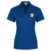 Ladies Royal Performance Fine Jacquard Polo-Interlocking SB