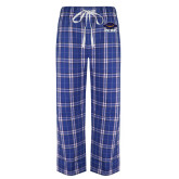 Royal/White Flannel Pajama Pant-Primary