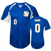 Replica Royal Adult Baseball Jersey-Personalized
