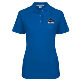 Ladies Easycare Royal Pique Polo-Primary