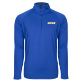 Sport Wick Stretch Royal 1/2 Zip Pullover-UCSB