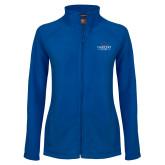 Ladies Fleece Full Zip Royal Jacket-Gaucho Fund