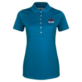 Ladies Callaway Opti Vent Sapphire Blue Polo-Primary