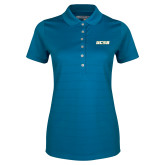 Ladies Callaway Opti Vent Sapphire Blue Polo-UCSB