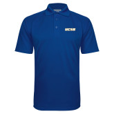 Royal Textured Saddle Shoulder Polo-UCSB