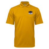 Gold Mini Stripe Polo-Primary