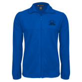 Fleece Full Zip Royal Jacket-Primary