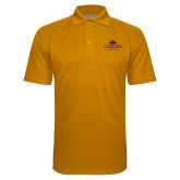 Gold Textured Saddle Shoulder Polo-Gaucho Fund