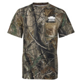 Realtree Camo T Shirt w/Pocket-Primary
